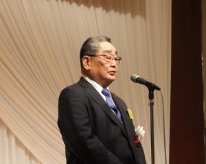 一般社団法人 法政大学校友会・豊田信哉副会長による祝辞
